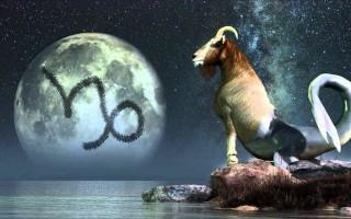 Гороскоп, Луна в знаке Козерога