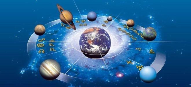 Солнце, Луна и планеты в знаках зодиака